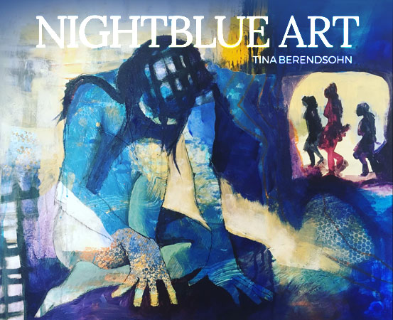 fully seen nightblue art tina berendsohn fully seen. Black Bedroom Furniture Sets. Home Design Ideas